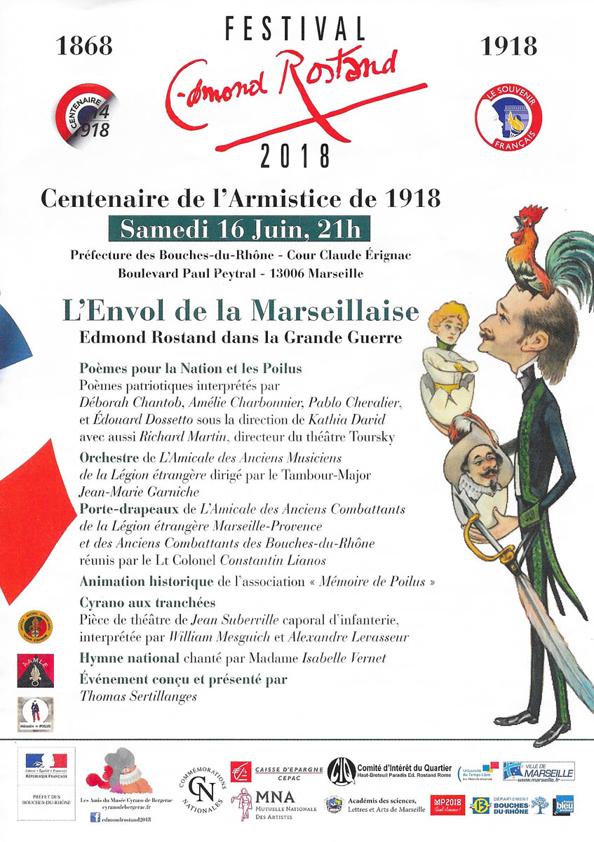 Envol Marseillaise Monsieur Legionnaire